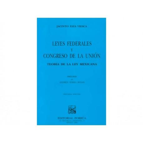 Leyes Federales y Congreso de la Unión - Envío Gratuito