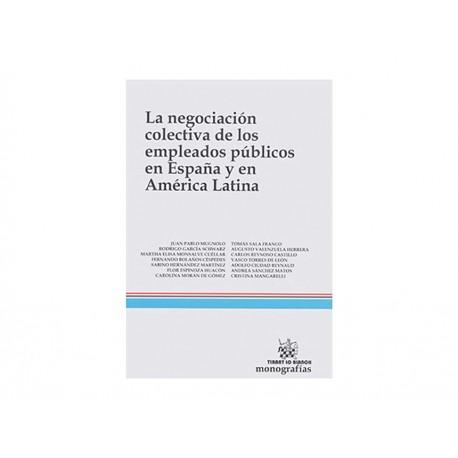 Negociación Colectiva de Los Empleados Públicos en España - Envío Gratuito