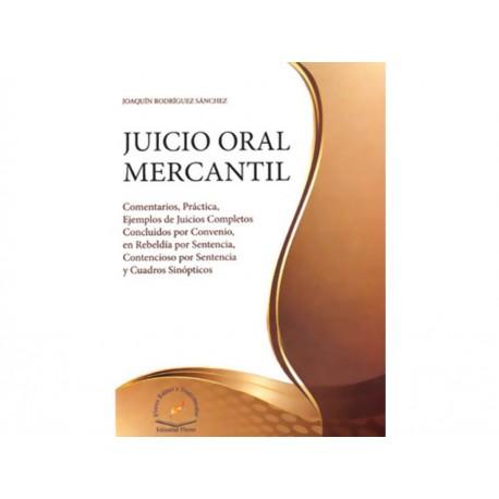 Juicio Oral Mercantil - Envío Gratuito