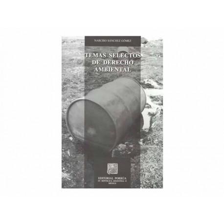 Temas Selectos de Derecho Ambiental - Envío Gratuito