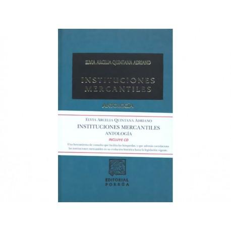 Instituciones Mercantiles Antologia con CD - Envío Gratuito