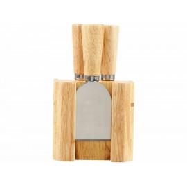 Set de cuchillos para queso chicos Haus natural - Envío Gratuito