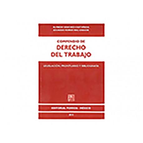 Compendio de Derecho del Trabajo Legislación Prontuario y Bibliografía - Envío Gratuito