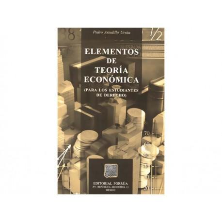 Elementos de Teoría Económica - Envío Gratuito