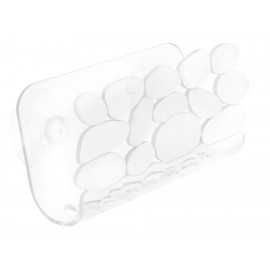 Interdesign Porta Esponja Pebblz Cradle Transparente 62360 - Envío Gratuito