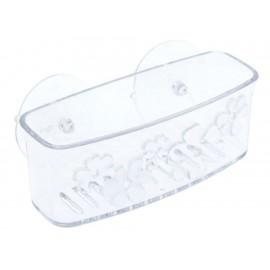 Interdesign Porta Esponja Rectangular Blanco - Envío Gratuito