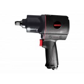 Pistola de impacto neumática de 1 2 pulgada Mikel s PIN 600 negra - Envío Gratuito