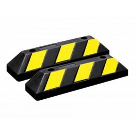 Topes para estacionamiento Mikel's TE-55 negro - Envío Gratuito
