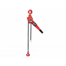 Polipasto de palanca Mikel's Pdp-1.5 rojo - Envío Gratuito