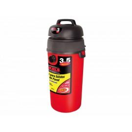 Aspiradora para sólidos y líquidos de pared Mikel s ASLP 3HP roja - Envío Gratuito