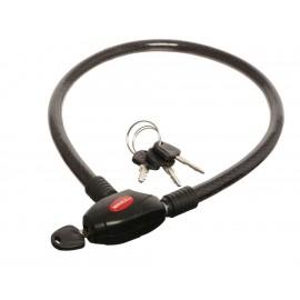 Cable candado Mikel s C 1590 negro - Envío Gratuito