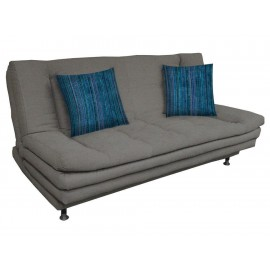 Sofá cama Violanti Iron gris oxford - Envío Gratuito