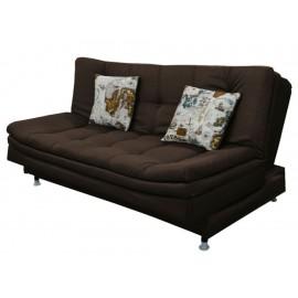 Sofá cama Violanti Iron chocolate - Envío Gratuito