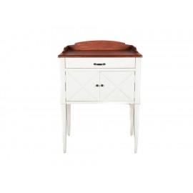 Consoleta Distinción en muebles 2 blanco - Envío Gratuito