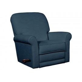 Mecedora reclinable La Z boy Addison azul - Envío Gratuito