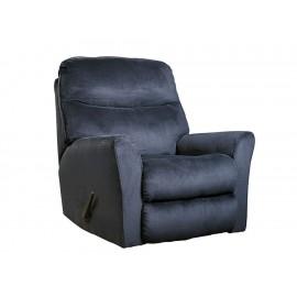 Mecedora reclinable Ashley Cossette azul - Envío Gratuito