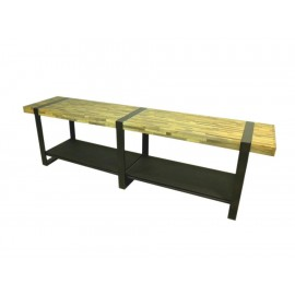 Mueble para TV EKH Furniture Turin natural - Envío Gratuito