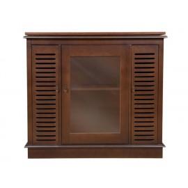 Mueble para TV Distinción en Muebles Richelie café claro - Envío Gratuito