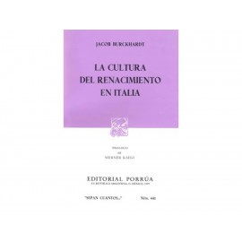 La Cultura del Renacimiento en Italia - Envío Gratuito