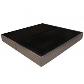 Base king size Sense gris Contemporánea - Envío Gratuito