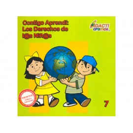 Contigo Aprendí Los Derechos De Los Niños - Envío Gratuito