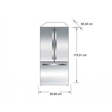 IO Mabe INM25FSKCSS Refrigerador 25 Pies Cúbicos Acero - Envío Gratuito