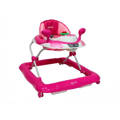 Infanti Baby Girl Andadera Rosa - Envío Gratuito