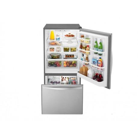 Whirlpool WRB322DMBM Refrigerador 22 Pies Cúbicos Acero Inoxidable - Envío Gratuito