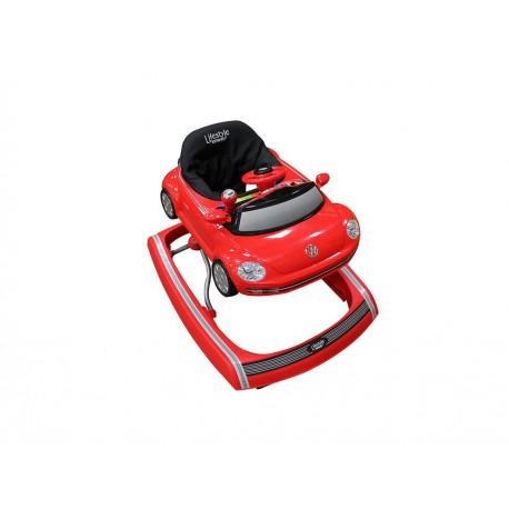 Infanti Andadera Beetle Rojo - Envío Gratuito