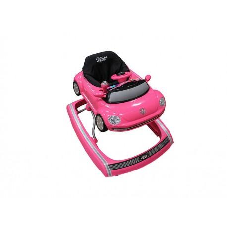 Andadera INFANTI XB2200VWP rosa - Envío Gratuito