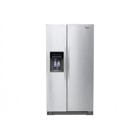 Whirlpool WD6575S Refrigerador 26 Pies Cúbicos Acero - Envío Gratuito