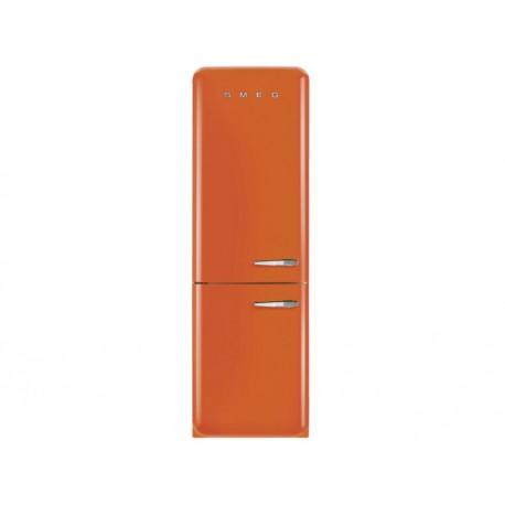 Smeg FAB32UORLN Refrigerador 11 Pies Cúbicos Naranja - Envío Gratuito