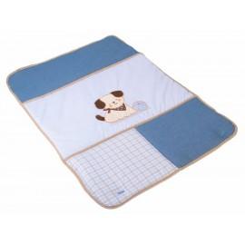 Colchoneta Carmen Patricia 41010021 azul - Envío Gratuito