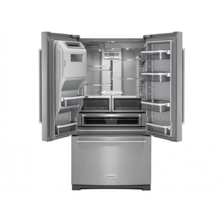 Kitchen Aid KRFF707ESS Refrigerador 20 Pies Cúbicos Acero - Envío Gratuito
