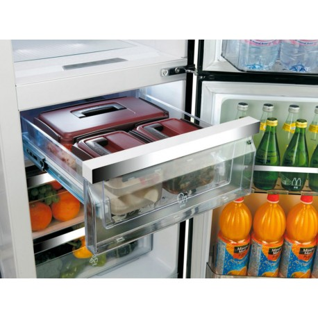 Daewoo FRS T30H3TS Refrigerador 29 Pies Cúbicos Gris - Envío Gratuito