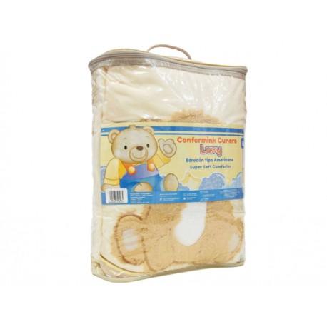 Baby Mink Cobertor Conf Luxy Peluso Amarillo - Envío Gratuito