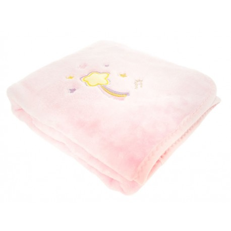 Baby Mink Cobertor Baby Glow Rosa - Envío Gratuito