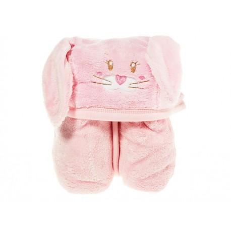 Cobertor Baby Mink rosa - Envío Gratuito