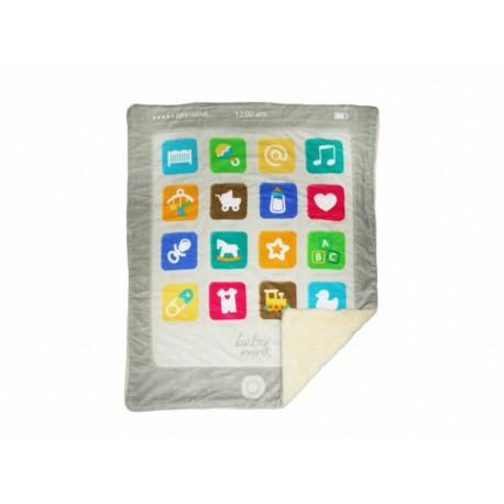 Baby Mink Cobertor Conforming Plus APPS Amarillo - Envío Gratuito