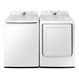 Combo lavadora y secadora Samsung 19 kilos blanca F-WD19J3000W - Envío Gratuito