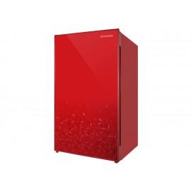 Frigobar de lujo Daewoo rojo - Envío Gratuito
