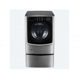 Lavasecadora LG 22 kg acero WD22VTS6 - Envío Gratuito
