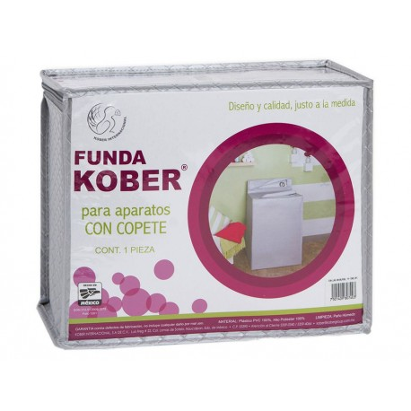 Funda para lavadora Kober Rombos plata - Envío Gratuito