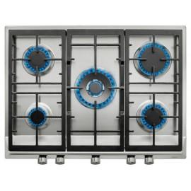 Parrilla de gas Teka 70 cm acero EX 70.1 5G AI DR CI - Envío Gratuito