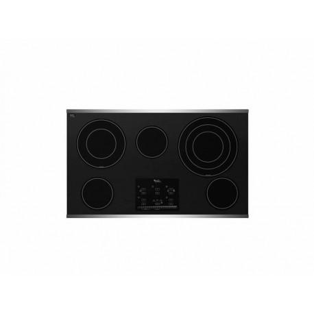 Parrilla Whirlpool G9CE3675XS negra - Envío Gratuito