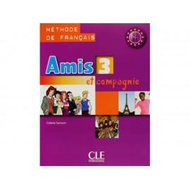 Amis 3 Et Compagnie A2 B1 Livre de L Eleve Methode de Francais con CD - Envío Gratuito