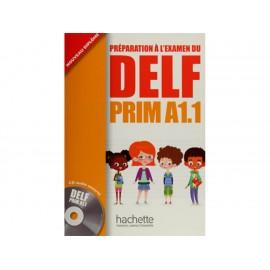 Préparation Á L'Examen Du DELF PRIM A1.1 con CD - Envío Gratuito