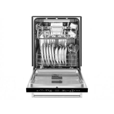 KitchenAid KDTM704ESS Lavavajillas 16 Servicios Gris Acero - Envío Gratuito