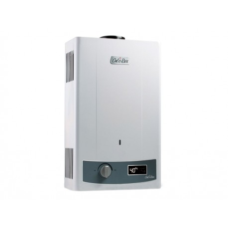 Calorex COXDPI 11 B Calentador de Depósito instantáneo a Gas Natural Blanco - Envío Gratuito