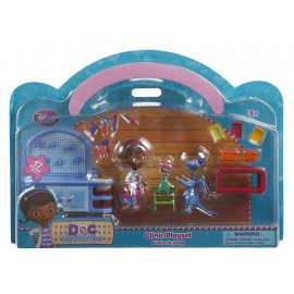 Disney Collection Playset Clínica Doctora Juguetes - Envío Gratuito